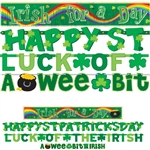 St. Patrick's Day Banners Value Pack