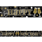 MY FOIL BANNER BLACK/SILVER/GOLD
