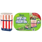 Flings Bin Patriotic - Pop-Up Trash Bin