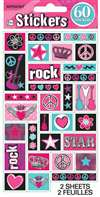 ROCKER PRINCESS STICKER SHEETS