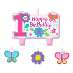 Sweet Birthday Girl Birthday Candle Set