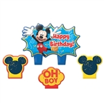 Mickey Mouse Mini Molded Birthday Candle Set