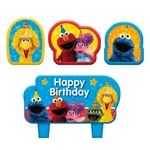 Sesame Street Birthday Candle Set