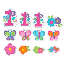 Sweet Birthday Girl Value Pack Cutouts