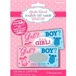 Gender Reveal - Girl Scratch Off