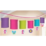 Sweet Birthday Girl Paper Lantern Garland