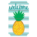 Pineapple Large Easel Back Sign