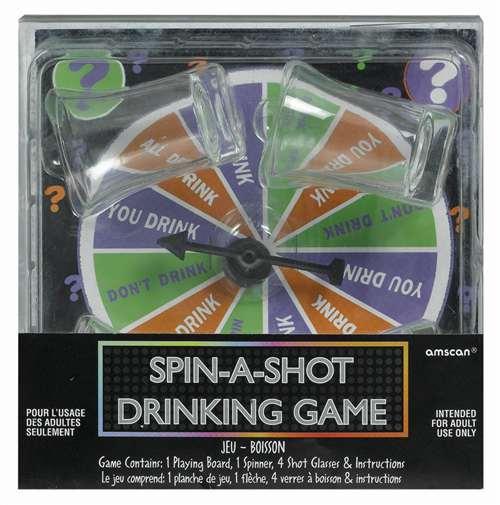 Birthday Spinner Drinking Game