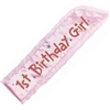 GIRLS FIRST BDAY SASH