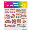 RAINBOW BODY JEWLERY