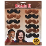 Western Mustaches Kit