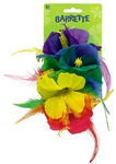 Rainbow Deluxe Flower Barrette