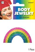 Rainbow Shaped And Colored Body Jewelry