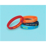 Jake and the Never Land Pirates Rubber Bracelets Favors