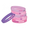 PRINCESS DREAM BIG RUBBER BRACELETS