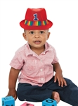 First Birthday Rainbow Fedora
