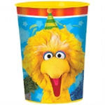 SESAME STREET 16 OUNCE PLASTIC CUP