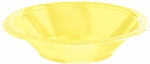 Light Yellow Bowls-20 Ct