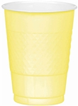 Light Yellow Cups 16 oz-20 Ct