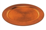 Elegant Orange Oval Platter