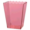 Pink Large Scalloped Container