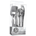 Premium Silver Cutlery Assortment