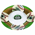 MLB Round Chip & Dip Serving Piece