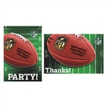 NFL Drive Invitations / Thank You Combo Pack