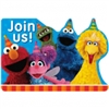SESAME STREET 2 INVITATIONS
