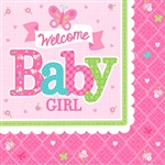 Welcome Little One Girl Beverage