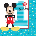 Mickey's Fun to Be One Beverage Napkins