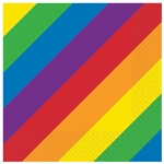 Rainbow Luncheon Napkins