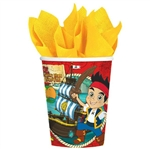 Jake and the Never Land Pirates 9oz Party Cups