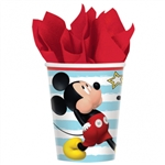 MICKEY ON THE GO 9 OUNCE CUPS