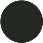 BLACK LUNCHEON PAPER PLATES 9in.-20 Ct
