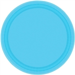 CARRIBEAN BLUE 9in. PAPER PLATES