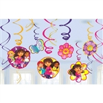 Dora & Friends Swirl Decorations