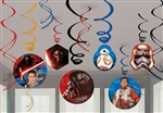 Star Wars VII The Force Awakens Swirls Decorations