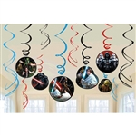 Star Wars Classic Swirls Decorations Value Pack