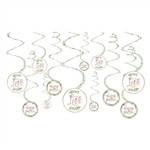 Love and Leaves Spiral Decorations Value Pack