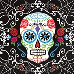 Day of the Dead Beverage Napkins