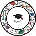 You Did It Graduation 10 inch Plates Value Pack