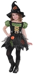 Pumpkin Patch Witch Sm (4-6) Girls Costume