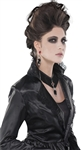 Gothic Velvet Choker and Earrings