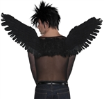 Black Arch Angel Wings