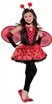 Totally Ladybug Lrg(12-14) Girls Costume