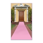 Pink Carpet Sidewalk Runner
