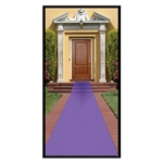 Purple Carpet Sidewalk Runner