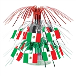 Mexican Flag Mini Cascade Centerpiece