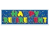 Retirement Sign Banner